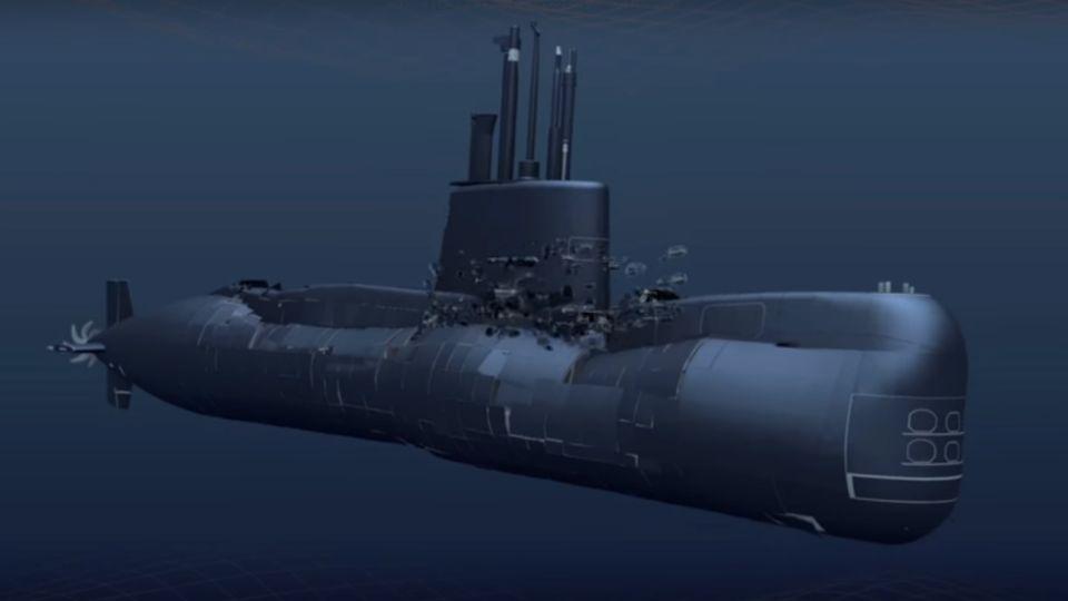 submarino ara san juan implosion