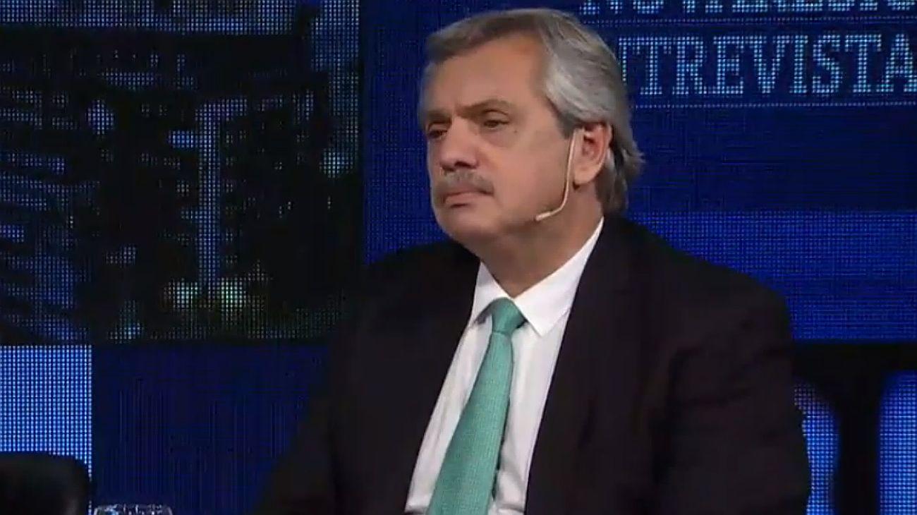 """Alberto Fernández insiste: """"Cristina no es ladrona, eso sí estoy seguro"""""""