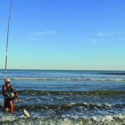 El balneario Reta ofrece extensas riberas en las que podemos disfrutar no sólo de corvinas y buena variada, sino también de ver el sol salir y ponerse sobre el mar.