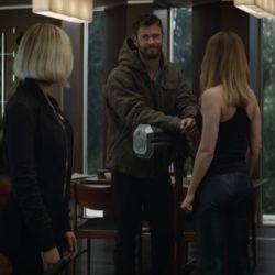 La primera escena de Thor con Capitana Marvel