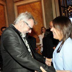 Benito Fernández y Elena Moreira