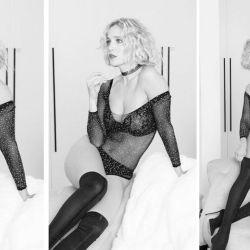 Luisana Lopilato posó en ropa interior para mostrar su nuevo look