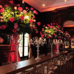 Los arreglos florales de la fiesta de Marie Claire