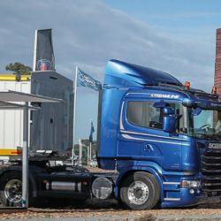 Scania Argentina, presente en Expoagro 2019, donde se realizó el anuncio de la inversión.