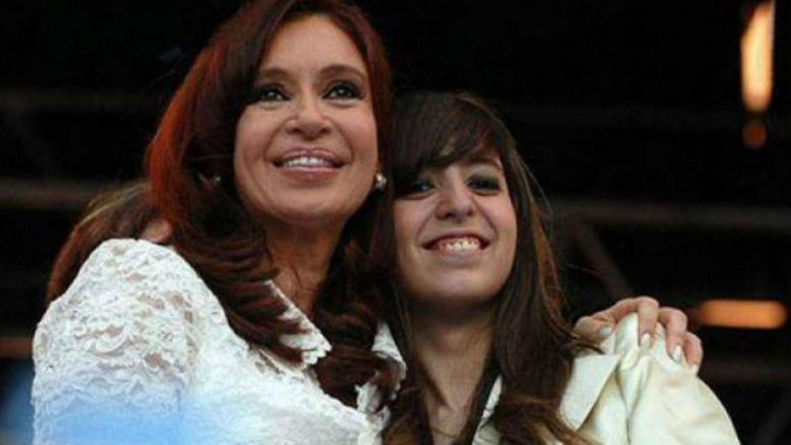 Cristina Kirchner confirmó que su hija tiene graves problemas de salud