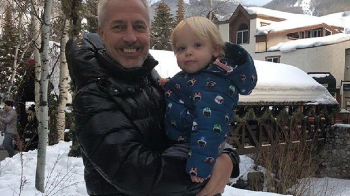 Marley y Mirko disfrutan de Colorado.