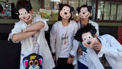 Suspenden las clases en la escuela Rosario Vera Peñaloza por presencia de excremento de ratas.