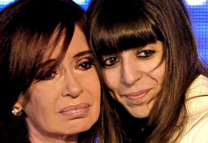 Cristina y Florencia Kirchner video twitter