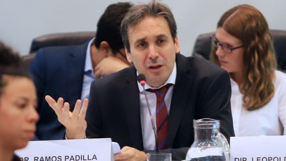 El juez federal Alejo Ramos Padilla.