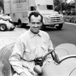 Maurice Trintignant, el último piloto en sumar un punto extra por vuelta rápida, ganador del GP de Mónaco en 1955 y 1958.