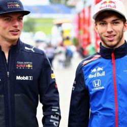 Verstappen y Gasly, la armada sub 23 de Red Bull