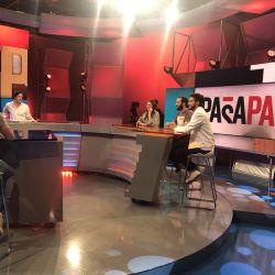 El elenco de ATAV en Pasapalabra.