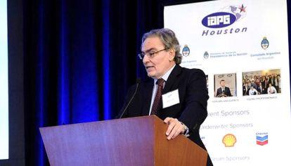 HOUSTON. El secretario de Energía, Gustavo Lopetegui, en EE.UU.