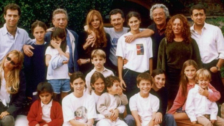 Franco Macri y familia
