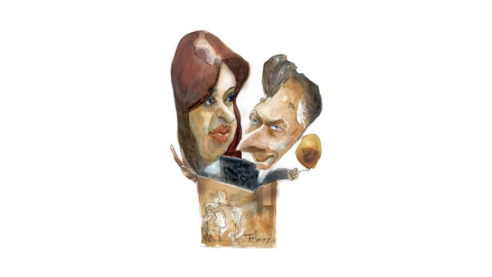 URNA ET ORBI Cristina Fernández  y Mauricio Macri