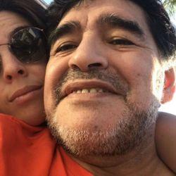 El posteo de Diego para la hija de Dalma.
