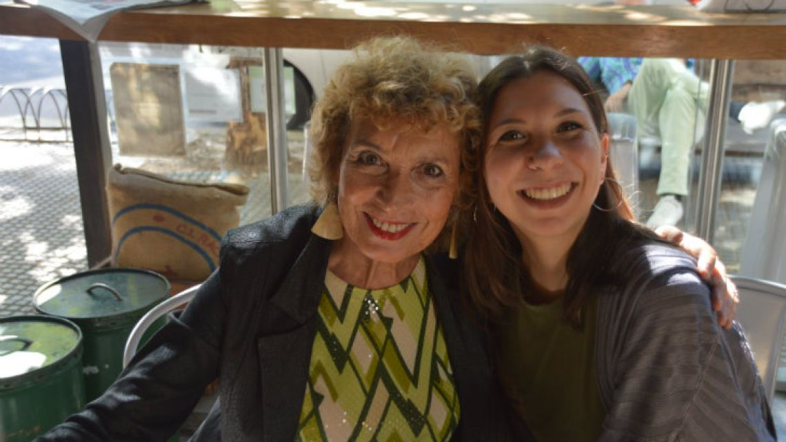 Irene Bianchi, 67, and her daughter Lucía Verderosa, 24.