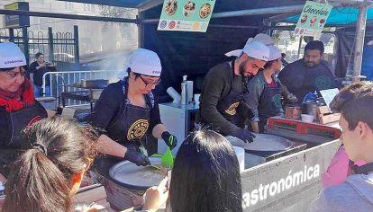 Original. Los hermanos Zuvic tienen un food truck propio. Ganaron un concurso de emprendedores.