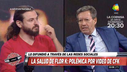 Ceferino Reato vs Juan Grabois: un cruce en Intratables.