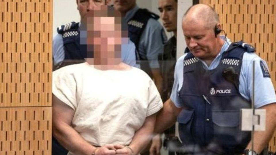 Brenton Tarrant, ante la justicia para escuchar los cargos en su contra.