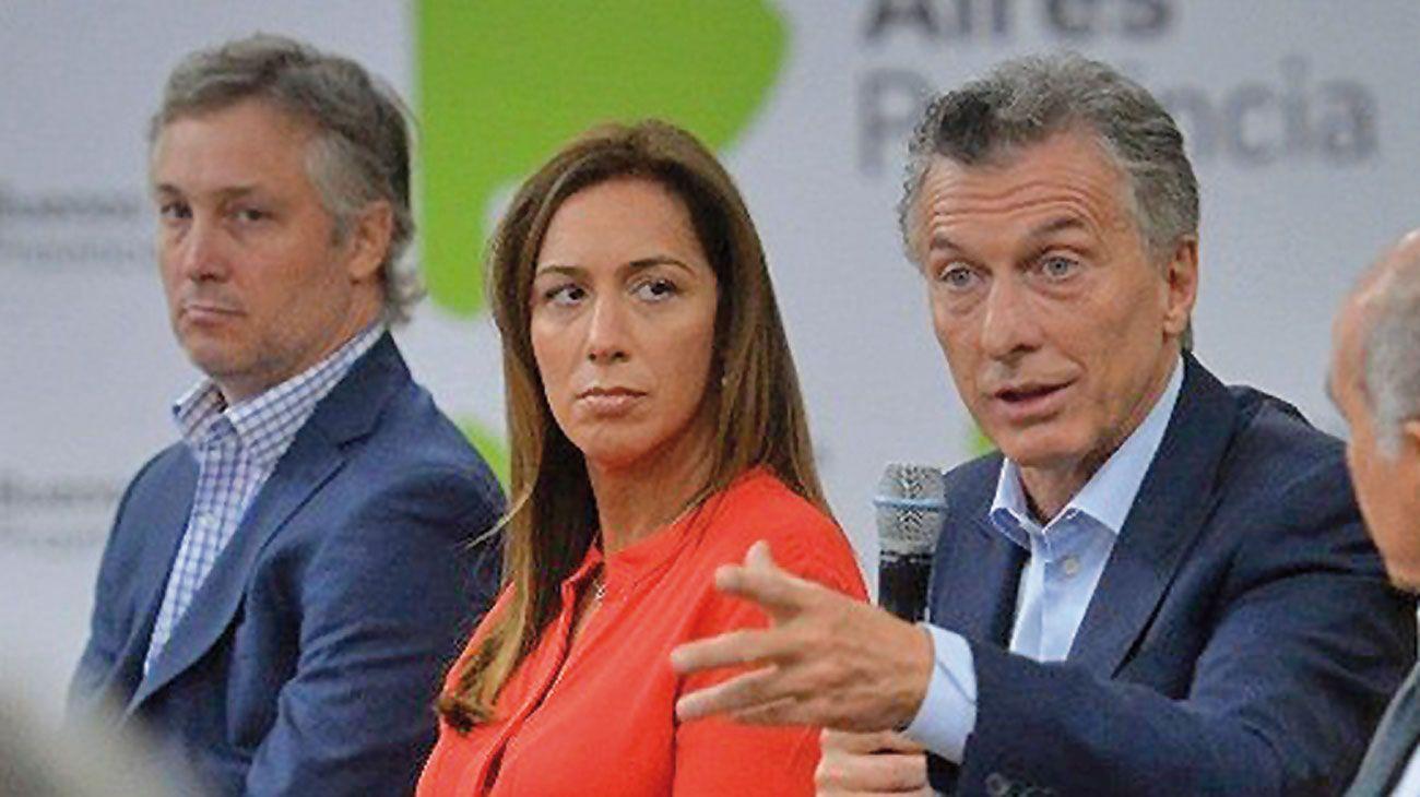 Mirada. Macri visitó en la semana a la gobernadora, con quien se muestra cada vez más seguido.