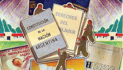 """El peronismo impulsó una reforma para dotar al país de una Carta Magna que interpretara la """"Nueva Argentina"""" que había nacido en 1943, con un Estado interventor, soberanía popular y derechos sociales."""
