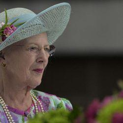 Awada y Macri recibieron a la monarca danesa.