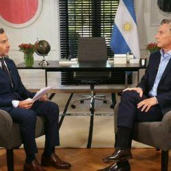 Luis Majul entrevistó a Macri en su primer programa del 2019