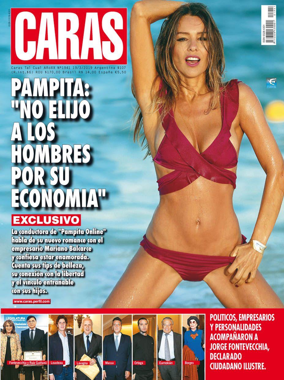 """Pampita, enamorada y más hot que nunca: """"No elijo a los hombres por su economía"""""""