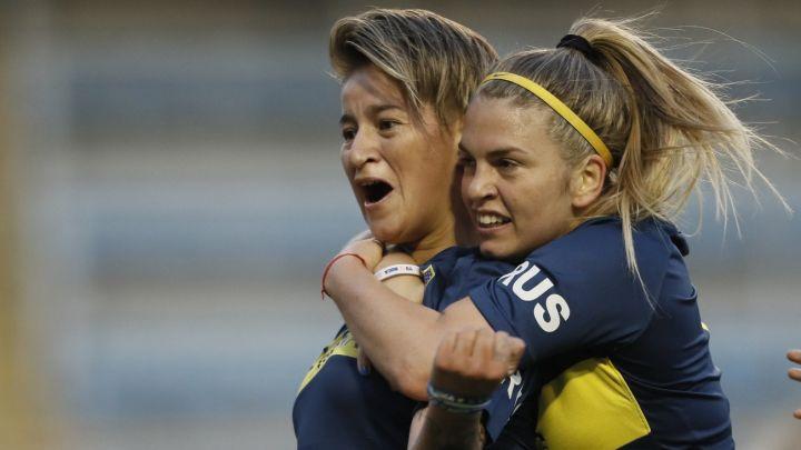 """""""Mujeres Xeneizes"""": conocé cómo festejaron en Boca Juniors el #8M"""