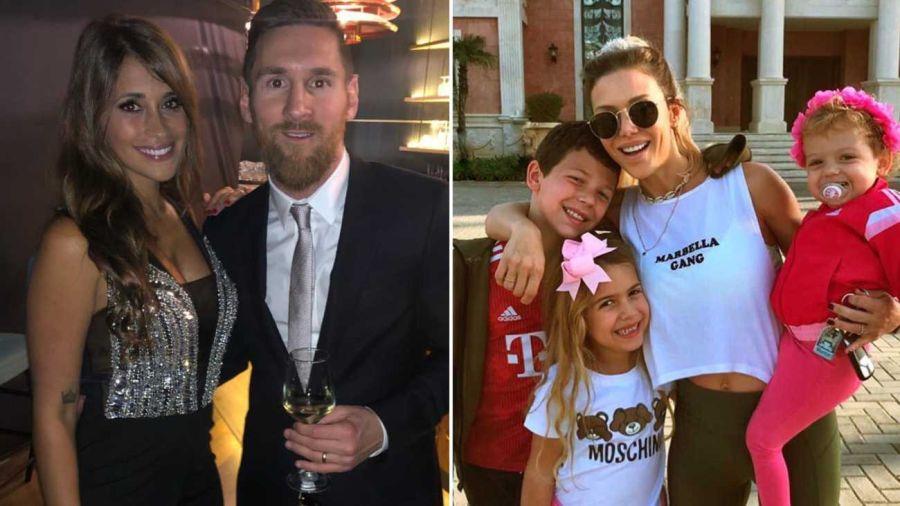 Los hijos de Evan Anderson modelaron para la marca de Anto Roccuzzo.