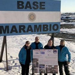 En la Base Marambio comenzó a funcionar Neurus con el objetivo de determinar si los niveles de radiación en la atmósfera son normales.