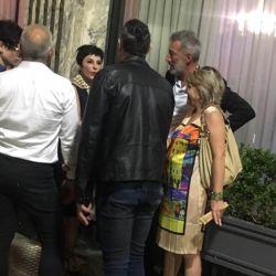La actriz presentó a su enamorado en los premios Podestá