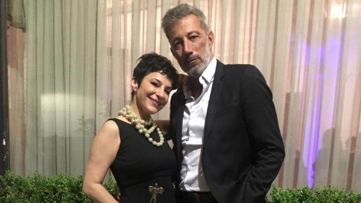 Carolina Papaleo se mostró feliz junto a su novio, el empresario Miguel Cuberos