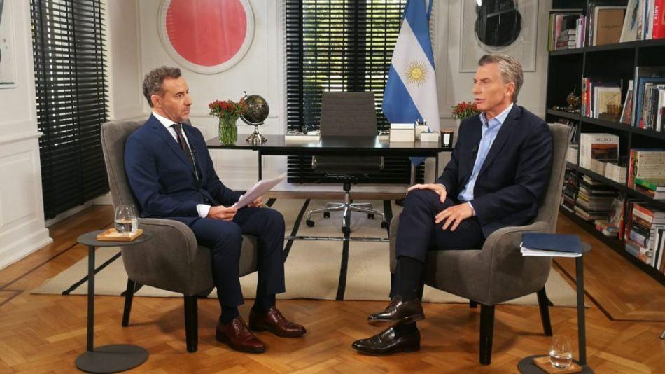 Luis Majul Mauricio Macri g_20190319