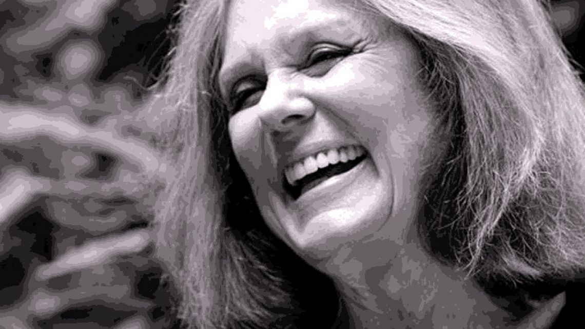 Feminist icon and writer Gloria Steinem.