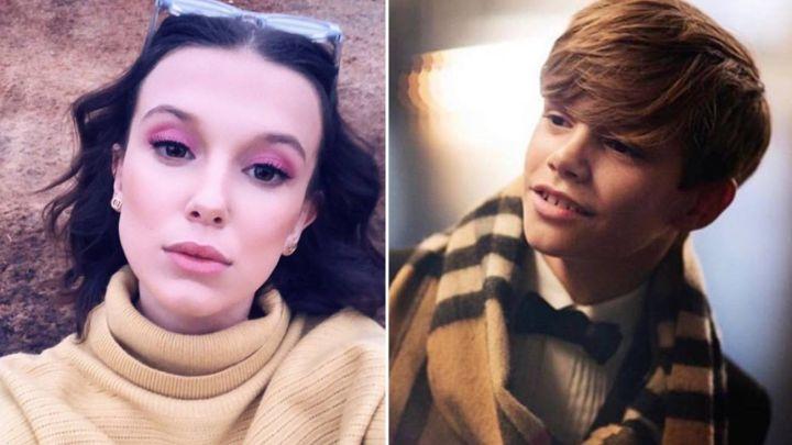 Romance bomba: Romeo Beckham estaría saliendo con Millie Bobby Brown