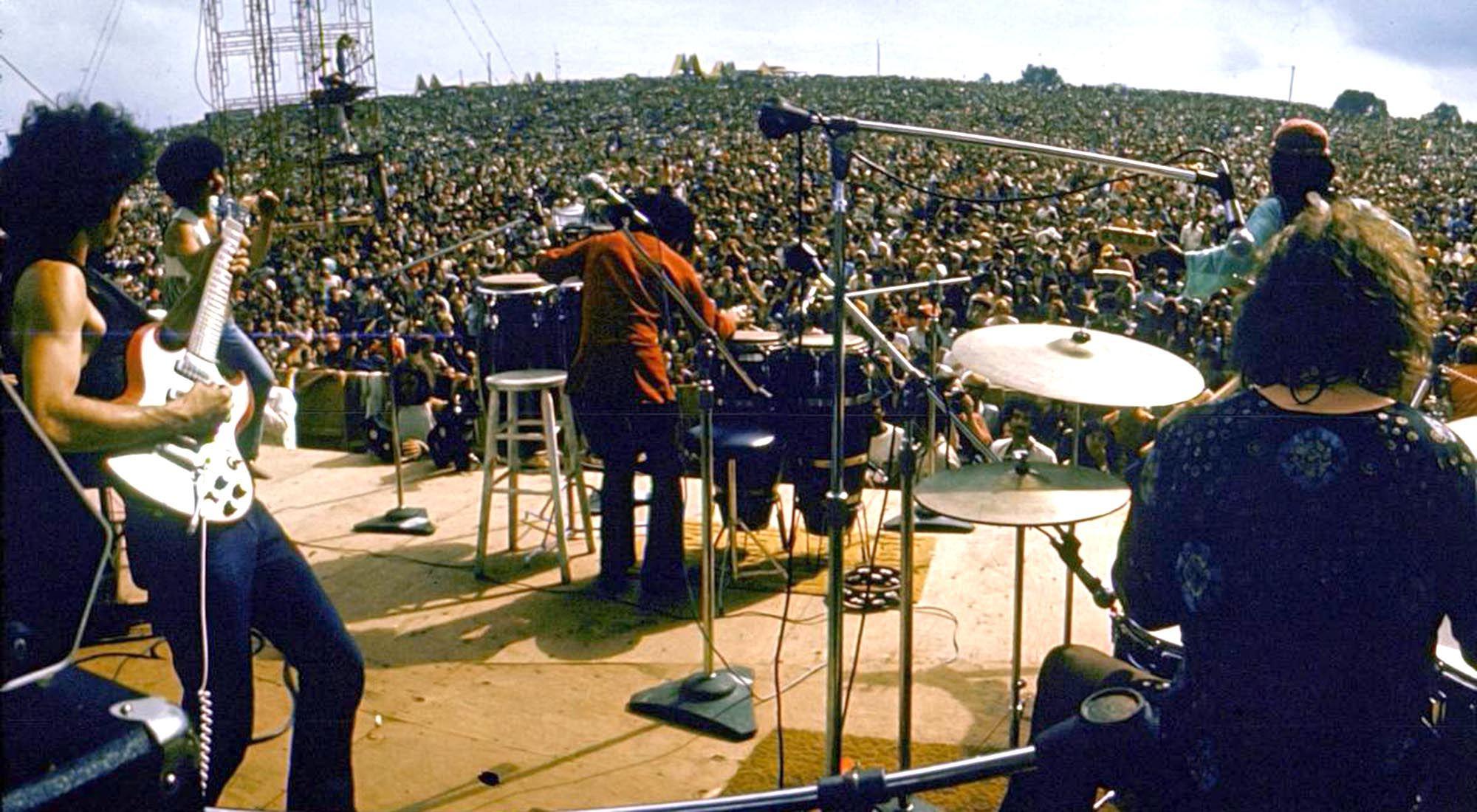 Imagen de archivo | Woodstock. Se realizará una edición especial del festival por el aniversario del mítico encuentro musical de tres días.