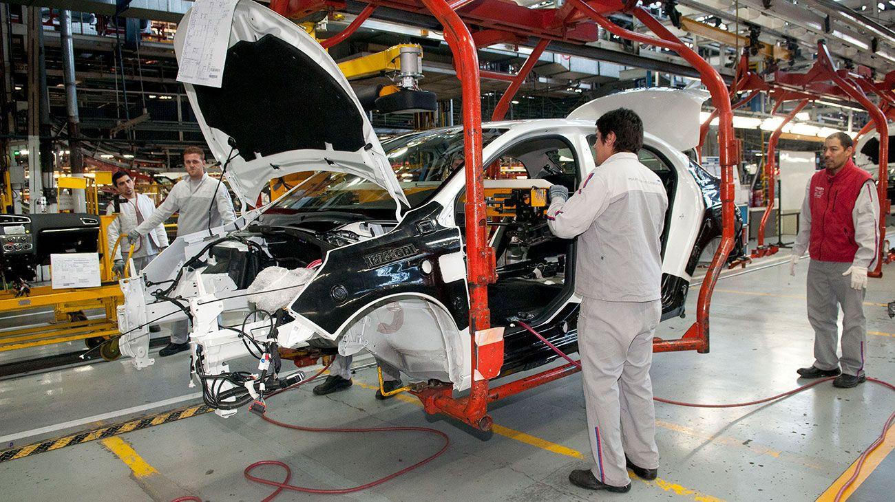 Fábrica automotriz