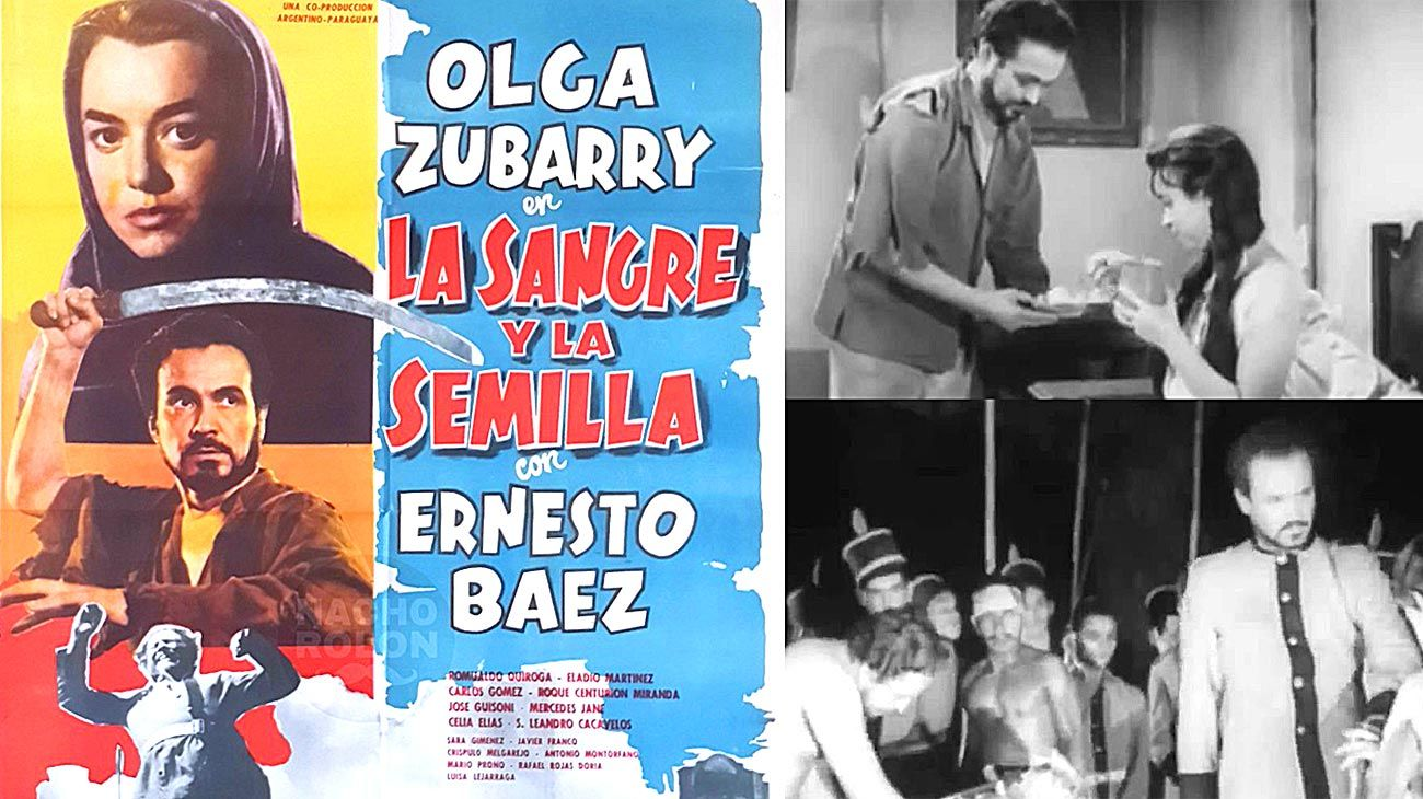 El film. El afiche y dos fotogramas de la película dirigida por Alberto Du Bois y protagonizada por Olga Zubarry.