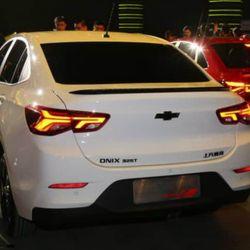 Presentación del nuevo Onix en China. Foto: Notícias Automotivas.