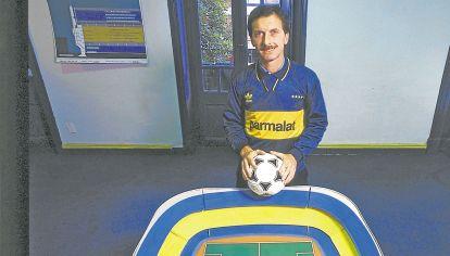 En la sangre. Anteriormente fue presidente de Boca Juniors.