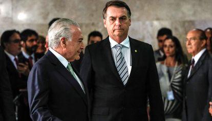 """Serios. Bolsonaro, sobre la detención de su antecesor: """"que cada uno responda por sus actos""""."""