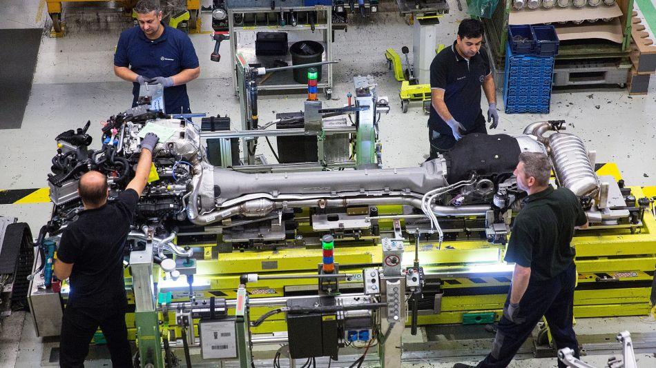 Mercedes-Benz AG's High Performance Sports Car Unit AMG Celebrates 50th Anniversary