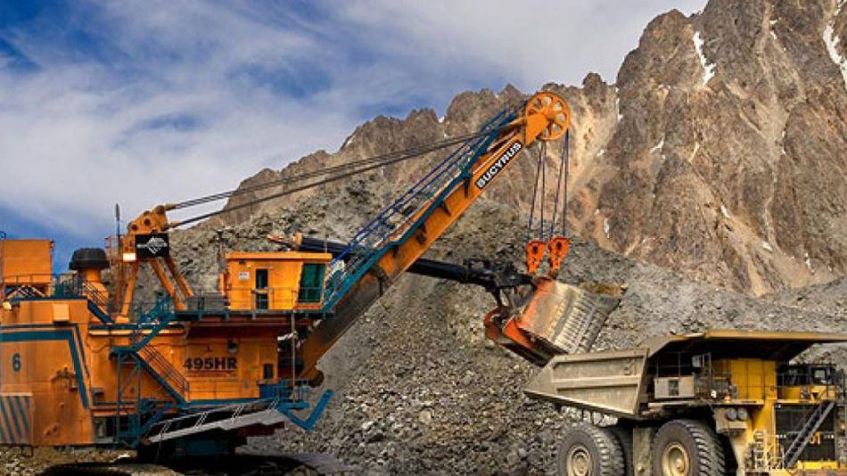 Cayó la producción de minerales