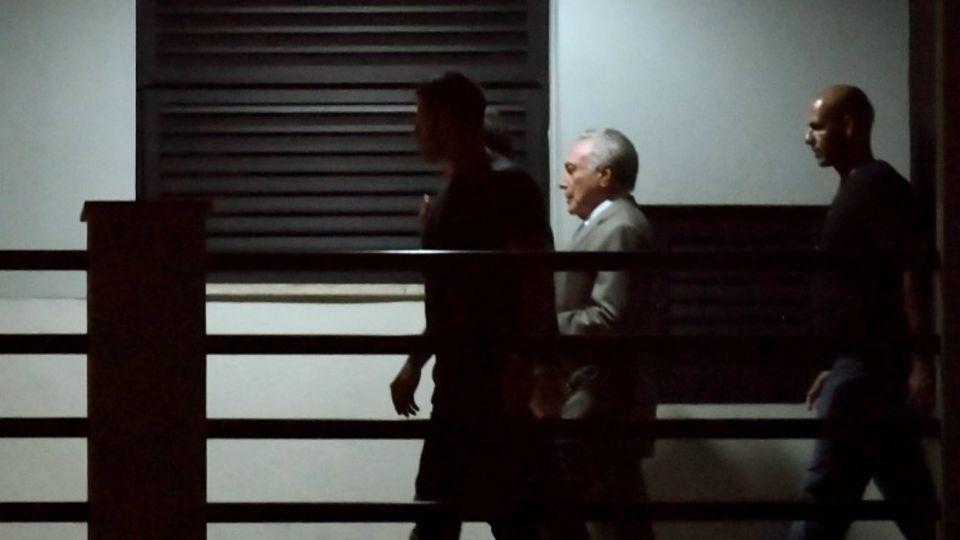 Michel Temer detenido brasil lava jato