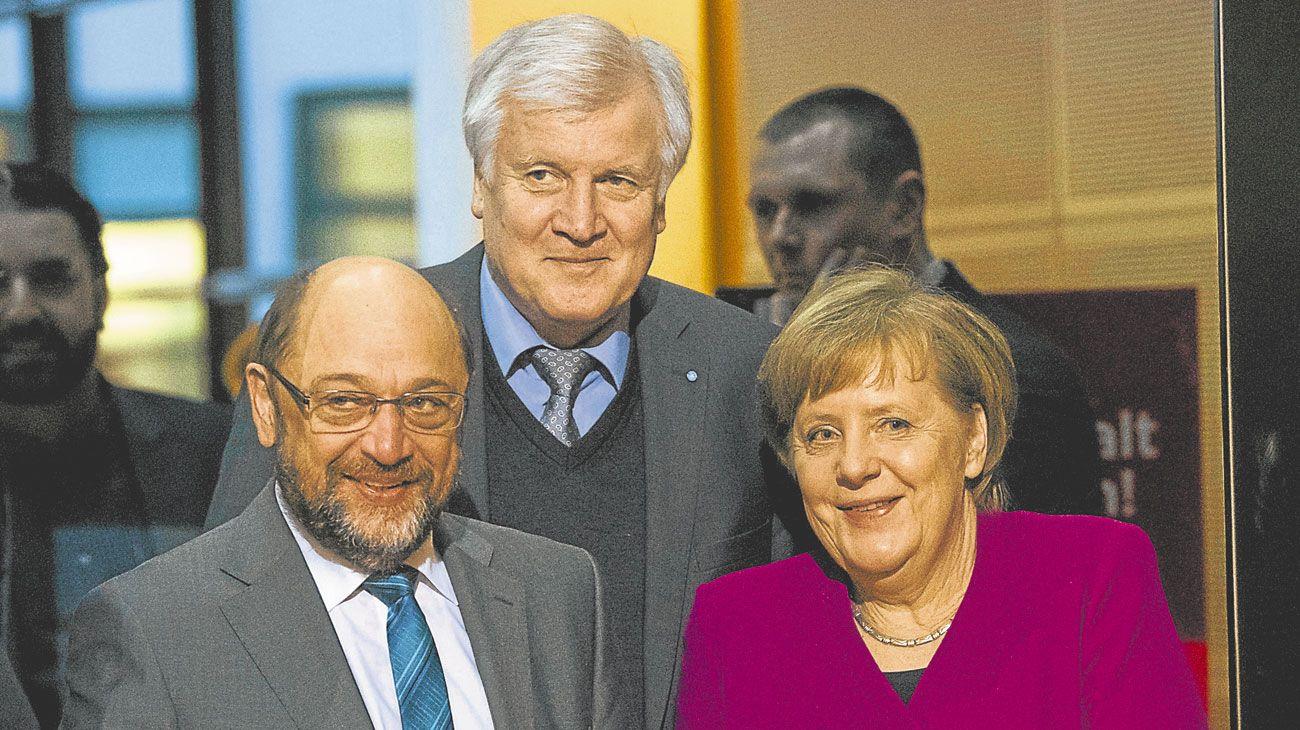 Alemania. Gobiernos estables gracias a amplias alianzas de fuerzas políticas.