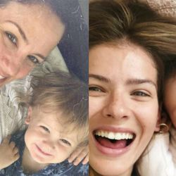 Baltazar y Magnolia, los hijos de Paula Chaves y la China Suárez