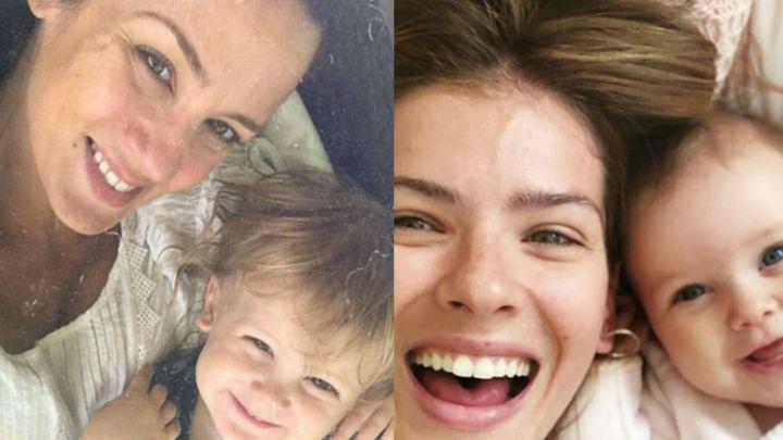 La foto más dulce de Baltazar y Magnolia, los hijos de Paula Chaves y la China Suárez