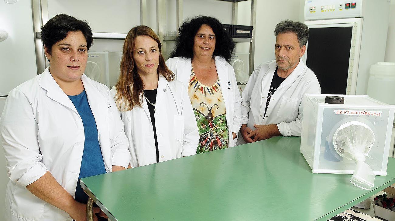 Equipo. Marianela García Alba, Mariana Marter Terrada, Brenda Allejes Redin y Carlos Leiva.